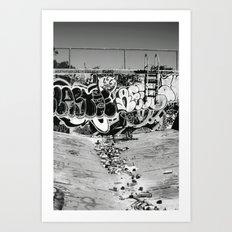 downfall Art Print