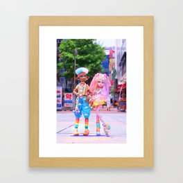 Decora Duo Framed Art Print