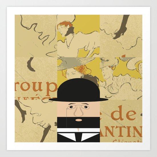 Henri de Toulouse Art Print