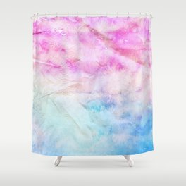 Crumpled Paper Textures Colorful P 1022 Shower Curtain