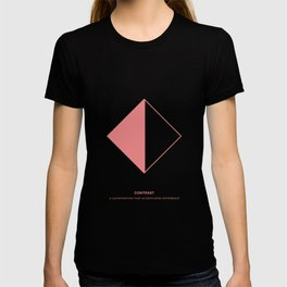 Design Principle SEVEN - Contrast T-shirt