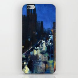 Rainy Morning at the Rockville Centre Cathedral iPhone Skin