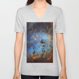 The Tapdole Nebula Unisex V-Neck