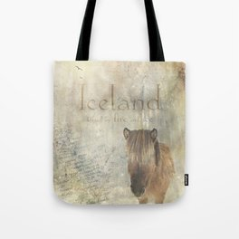 Iceland, forged by fire and ice Tote Bag