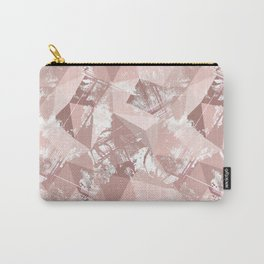 Folded paper under glass. Carry-All Pouch