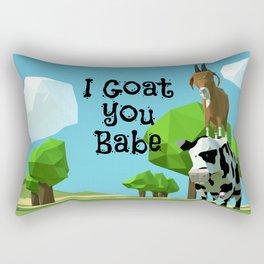 I Goat you Rectangular Pillow