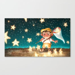 THE STARCATCHER Canvas Print