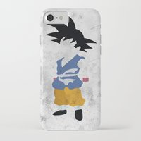 goku iPhone & iPod Cases featuring Goku  by JHTY