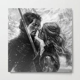 Shall we dance? Metal Print