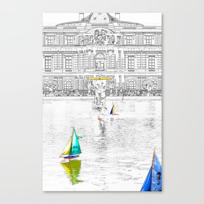 Luxembourg Gardens - Paris Canvas Print