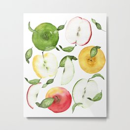 How Ya Like Them Apples Metal Print