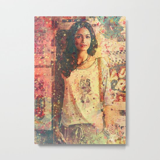 IndianGirl Metal Print