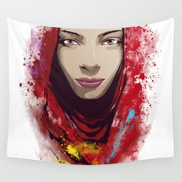 Rajasthan portrait Wall Tapestry