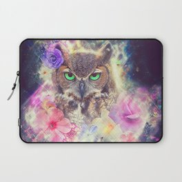 Space Owl with Spice Laptop Sleeve