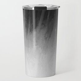 Ice Rays in a Black Sky Travel Mug