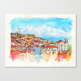 Lisbon, Portugal Canvas Print
