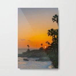 Tropics in Laguna Metal Print