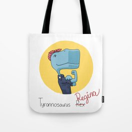 Regina the Riveter Tote Bag