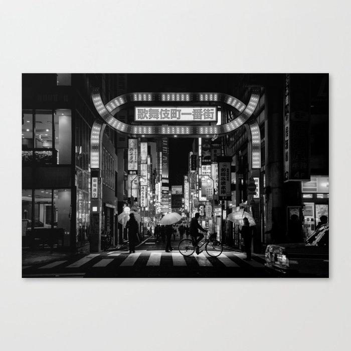 Tokyo Nights / Kabukichō / Liam Wong Canvas Print