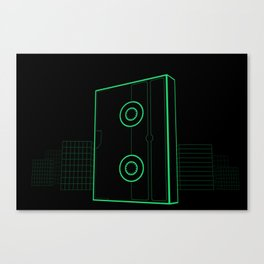 VHS NYC Canvas Print