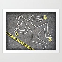 CSI Unicorn Art Print