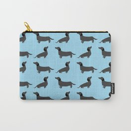 Dachshund pattern Carry-All Pouch