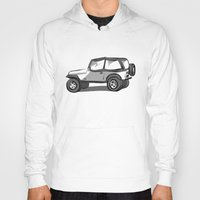 jeep Hoodies featuring Jeep by Mister Abigail