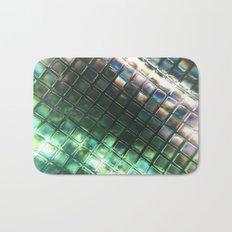 Rainbow pixels Bath Mat