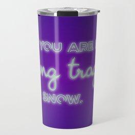 CARRY ON | Tragedy Travel Mug