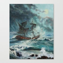 The Sea of Tranquility Canvas Print