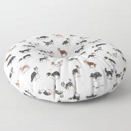 The Border Collie Floor Pillow