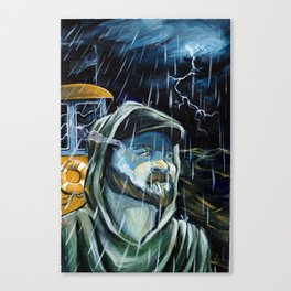 Tug boat Cap Canvas Print