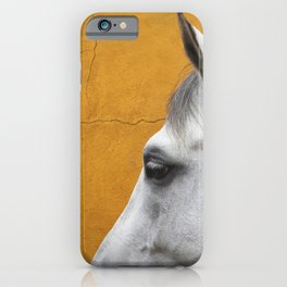 Cleo - Fine art horse print iPhone Case