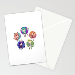 Star guardians Stationery Cards