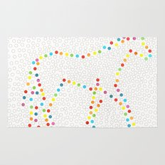 Dot Unicorn Rug