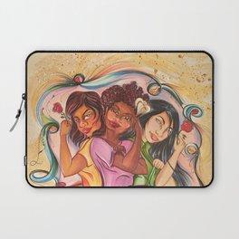 Rosie Brown Lily Black Laptop Sleeve