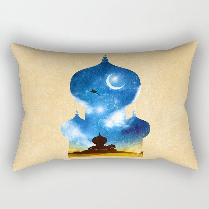 A Wondrous Place Rectangular Pillow