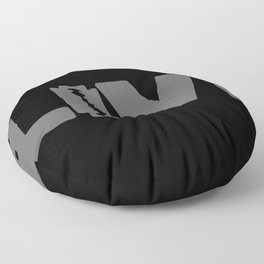 to live dangerously Floor Pillow