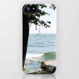 Sailboat on the Lake iPhone Case