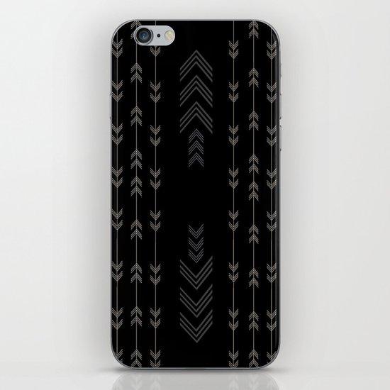 Headlands Arrows Black iPhone & iPod Skin