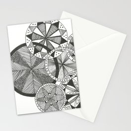 Wheels of Life Stationery Cards