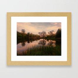 Embrace the Autumn Framed Art Print