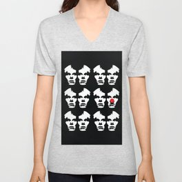 Clowning Around Unisex V-Neck