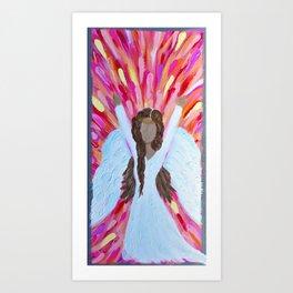 Angel Praise Art Print