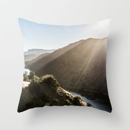 Scenic Drive Throw Pillow