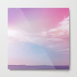 the sky + the sound Metal Print
