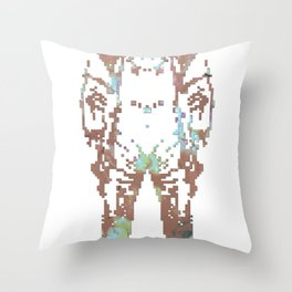 Astro Naught Throw Pillow