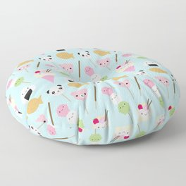 Japanese Kawaii Snacks Floor Pillow