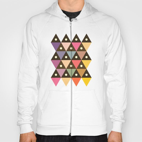 Cosmic Triangles Hoody