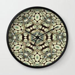 Resurrect Mandala 1 Wall Clock